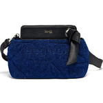 Lipault Noelie Crossbody Evening Bag Dazzling Blue 25906