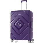 American Tourister Trigard Medium 66cm Hardside Suitcase Purple 26421
