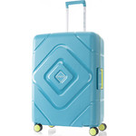 American Tourister Trigard Medium 66cm Hardside Suitcase Scuba Blue 26421