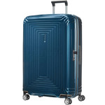 Samsonite Aspero Extra Large 81cm Hardside Suitcase Metallic Blue 91047