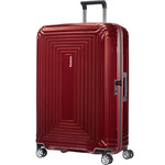 Samsonite Aspero Extra Large 81cm Hardside Suitcase Metallic Red 91047
