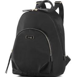 Lipault Plume Essentials Round Pocket Tablet Backpack Black 27381