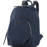 Lipault Plume Essentials Round Pocket Tablet Backpack Navy 27381