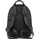 Lipault Plume Essentials Round Pocket Tablet Backpack Black 27381 - 1