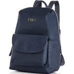 Lipault Plume Essentials Flap Pocket Tablet Backpack Navy 27387