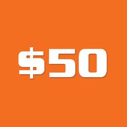 Bagworld Gift Voucher B $50
