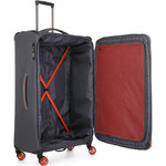Antler Clarendon Large 82cm Softside Suitcase Grey 45815 - 3