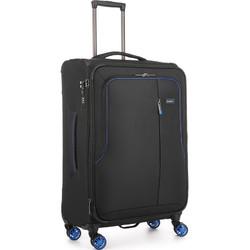 Antler Clarendon Medium 70cm Softside Suitcase Black 45816