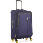 Antler Clarendon Medium 70cm Softside Suitcase Purple 45816