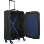 Antler Clarendon Medium 70cm Softside Suitcase Black 45816 - 3