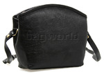 Cellini Tuscany Leather Handbag Black L7381
