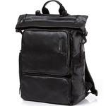 """Samsonite Red Alvion 13.3"""" Laptop & Tablet Rolltop Backpack Black 28114"""