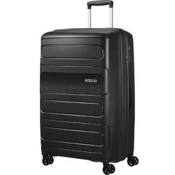 American Tourister Sunside Extra Large 81cm Hardside Suitcase Black 28767