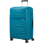 American Tourister Sunside Extra Large 81cm Hardside Suitcase Teal 28767