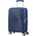American Tourister Curio Small/Cabin 55cm Hardside Suitcase Navy 87999