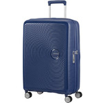 American Tourister Curio Medium 69cm Hardside Suitcase Navy 86229