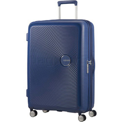 American Tourister Curio Large 80cm Hardside Suitcase Navy 86230