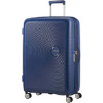 American Tourister Curio Large 80cm Hardside Suitcase Navy 86230