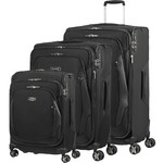 Samsonite XBlade 4.0 Softside Suitcase Set of 3 Black 22802, 22805, 22806 with FREE Samsonite Luggage Scale 34042