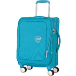 "American Tourister Curio SS Small/Cabin 15.6"" Laptop 55cm Softside Suitcase Turquoise 22700"
