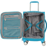 "American Tourister Curio SS Small/Cabin 15.6"" Laptop 55cm Softside Suitcase Turquoise 22700 - 3"