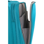 """American Tourister Curio SS Small/Cabin 15.6"""" Laptop 55cm Softside Suitcase Turquoise 22700 - 5"""