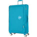 American Tourister Curio SS Large 81cm Softside Suitcase Turquoise 22702