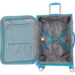 American Tourister Curio SS Large 81cm Softside Suitcase Turquoise 22702 - 3