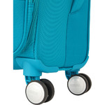 American Tourister Curio SS Softside Suitcase Set of 3 Turquoise 22702, 22701, 22700 with FREE Samsonite Luggage Scale 34042	 - 6