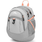 "High Sierra Fatboy 14.1"" Laptop Backpack Silver 64020"