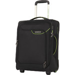 American Tourister Applite 4 Security Small/Cabin 50cm Softside Suitcase Black 30956