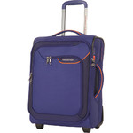 American Tourister Applite 4 Security Small/Cabin 50cm Softside Suitcase Bodega Blue 30956