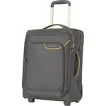 American Tourister Applite 4 Security Small/Cabin 50cm Softside Suitcase Lightning Grey 30956