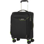 American Tourister Applite 4 Security Small/Cabin 55cm Softside Suitcase Black 30960