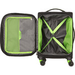 American Tourister Applite 4 Security Small/Cabin 55cm Softside Suitcase Black 30960 - 1