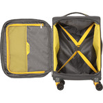 American Tourister Applite 4 Security Small/Cabin 55cm Softside Suitcase Lightning Grey 30960 - 1