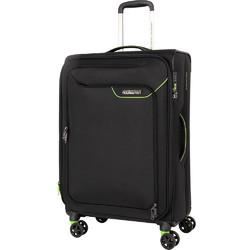 American Tourister Applite 4 Security Medium 71cm Softside Suitcase Black 30961