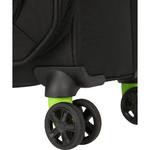 American Tourister Applite 4 Security Medium 71cm Softside Suitcase Black 30961 - 4