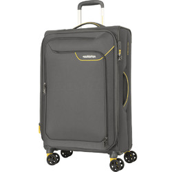 American Tourister Applite 4 Security Large 82cm Softside Suitcase Lightning Grey 30962