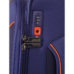 American Tourister Applite 4 Security Small/Cabin 55cm Softside Suitcase Bodega Blue 30960 - 2