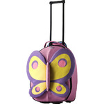 Samsonite Sammies Dreams Butterfly Small/Cabin 50cm Softside Suitcase Pink 44468