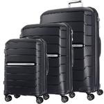 Samsonite Oc2lite Hardside Suitcase Set of 3 Black 27395, 27396, 27398 with FREE Samsonite Luggage Scale 34042