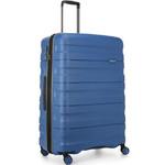 Antler Juno 2 Large 80cm Hardside Suitcase Blue 42215