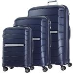Samsonite Oc2lite Hardside Suitcase Set of 3 Navy 27395, 27396, 27398 with FREE Samsonite Luggage Scale 34042