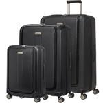 Samsonite Prodigy Hardside Suitcase Set of 3 Black 74770, 22760, 22761 with FREE Samsonite Luggafe Scale 34042