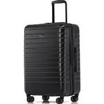 Qantas Narita Medium 66cm Hardside Suitcase Black 68066