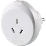 Go Travel Adaptor Plug USB Australia to EU GO641