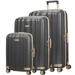 Samsonite Lite-Cube Prime Hardside Suitcase Set of 3 Matt Graphite 15672, 15675, 15676 with FREE Samsonite Luggage Scale 34042