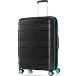 American Tourister Litevlo Medium 69cm Hardside Suitcase Black 31505
