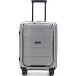 Qantas Dallas Small/Cabin 55cm Hardside Suitcase Silver 38055